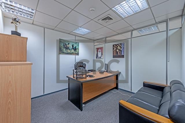 office for rent in al garhoud, airport road area | 2