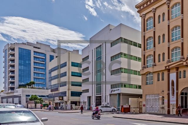 office for rent in al garhoud, airport road area | 9