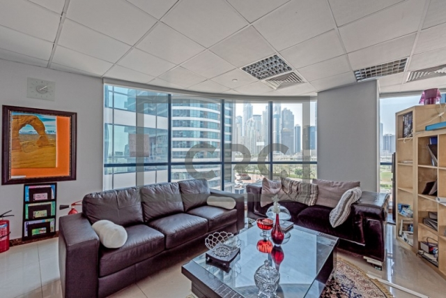 1,093 sq.ft. Office in Jumeirah Lake Towers, Jumeirah Bay X2 for AED 874,112