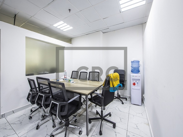 semi-furnished office for sale in business bay, clover bay tower   3