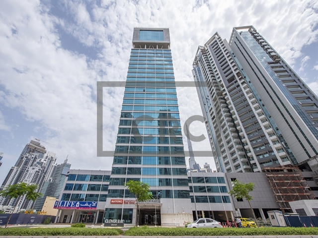 semi-furnished office for sale in business bay, clover bay tower   9
