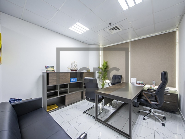 semi-furnished office for sale in business bay, clover bay tower   7