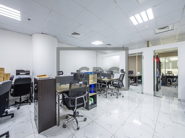 semi-furnished office for sale in business bay, clover bay tower   1