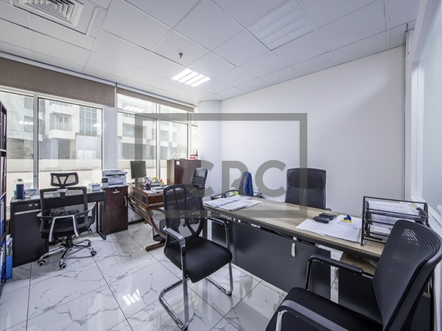 942 sq.ft. Office in Business Bay, Clover Bay Tower for AED 580,000