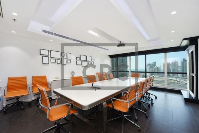 2,656 sq.ft. Office in Jumeirah Lake Towers, Jumeirah Business Centre 4 for AED 1,992,000