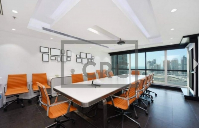 furnished office for sale in jumeirah lake towers, jumeirah business centre 4 | 2