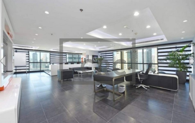 furnished office for sale in jumeirah lake towers, jumeirah business centre 4 | 7