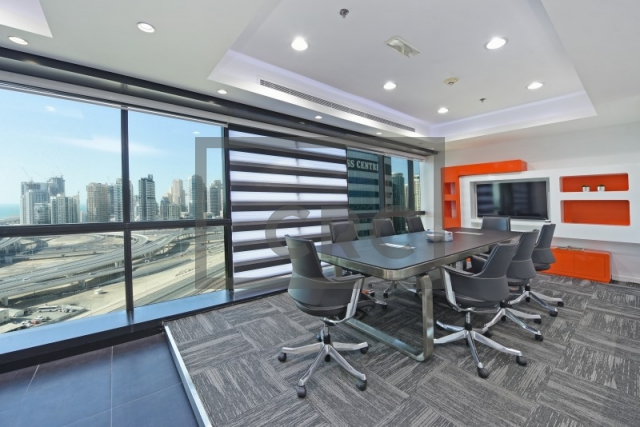 furnished office for sale in jumeirah lake towers, jumeirah business centre 4 | 18