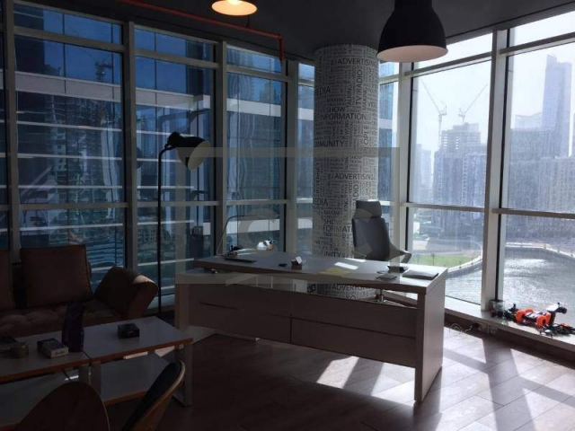 office for rent in business bay, lake central   1