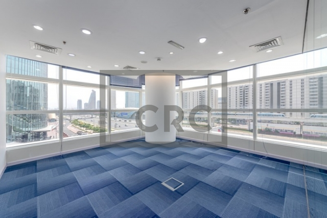 1,280 sq.ft. Office in Sheikh Zayed Road, Nassima Tower for AED 160,000