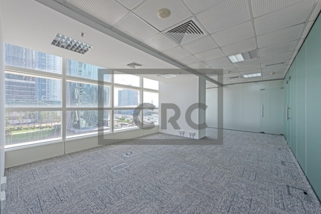 820 sq.ft. Office in Sheikh Zayed Road, Nassima Tower for AED 98,400