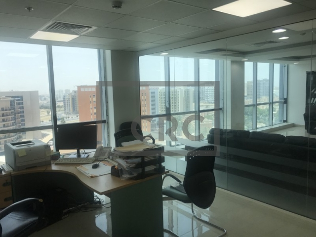 semi-furnished office for sale in dubai silicon oasis, apricot | 4
