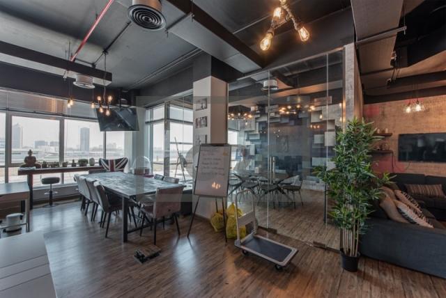 1,283 sq.ft. Office in Motor City, Apex Atrium for AED 1,668,394