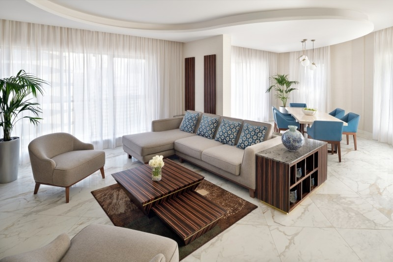 3 Bedroom Penthouse For Rent in  Movenpick Hotel Apartment,  Downtown Dubai | 0