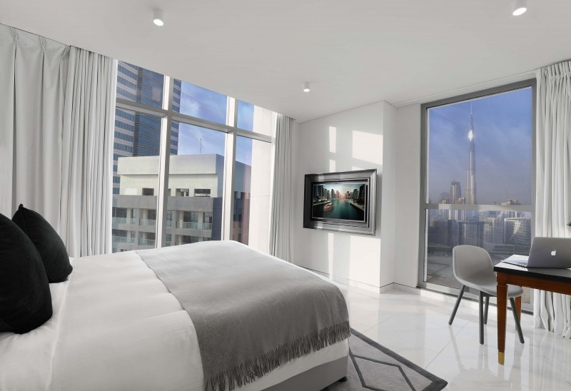 3 Bedroom Hotel Apartment For Rent in  The Atria,  Business Bay | 5