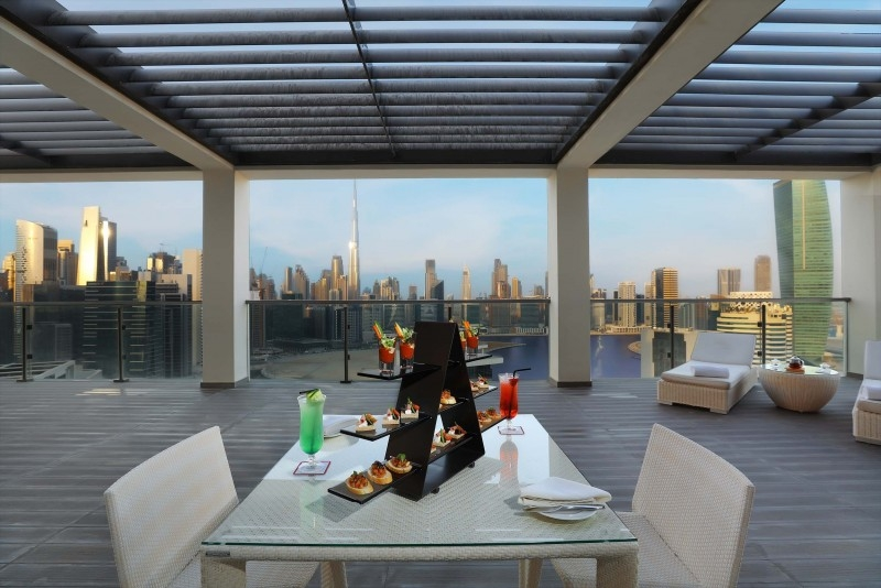 3 Bedroom Hotel Apartment For Rent in  The Atria,  Business Bay | 2
