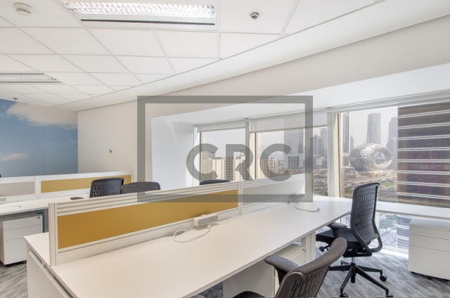 7,560 sq.ft. Office in Sheikh Zayed Road, Park Place for AED 831,600