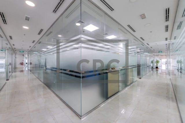 furnished office for sale in business bay, bay square building 13 | 1
