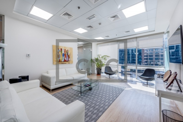 furnished office for sale in business bay, bay square building 13 | 5