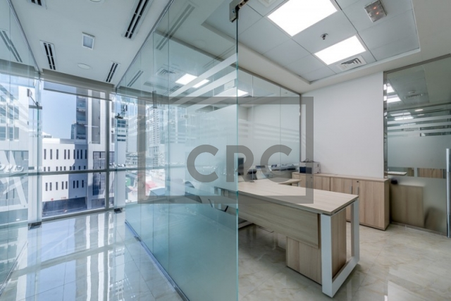 furnished office for sale in business bay, bay square building 13 | 6