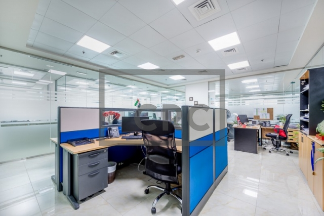 furnished office for sale in business bay, bay square building 13 | 8