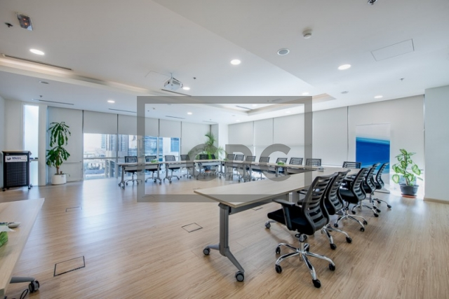 furnished office for sale in business bay, bay square building 13 | 9