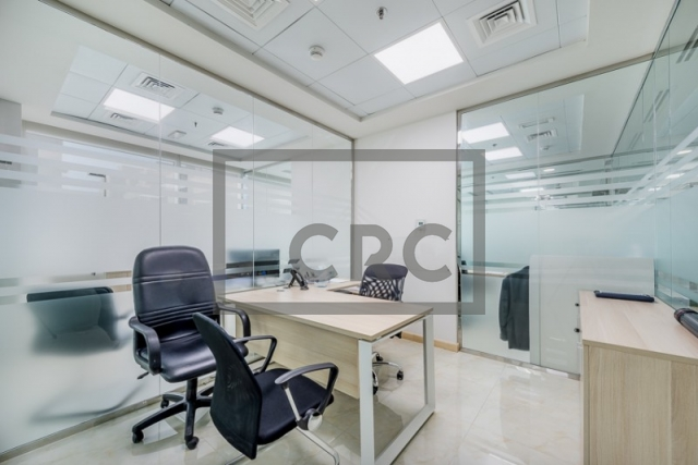 furnished office for sale in business bay, bay square building 13 | 10
