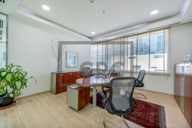 furnished office for sale in business bay, bay square building 13 | 3