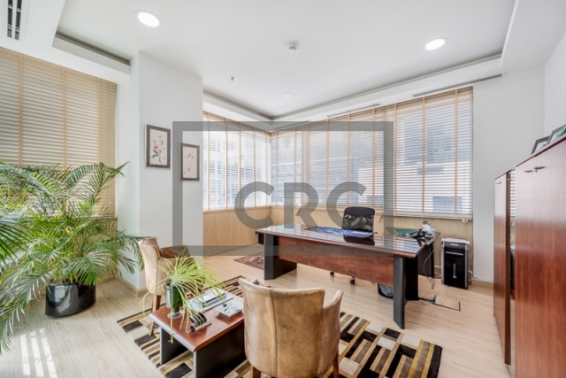 furnished office for sale in business bay, bay square building 13 | 14