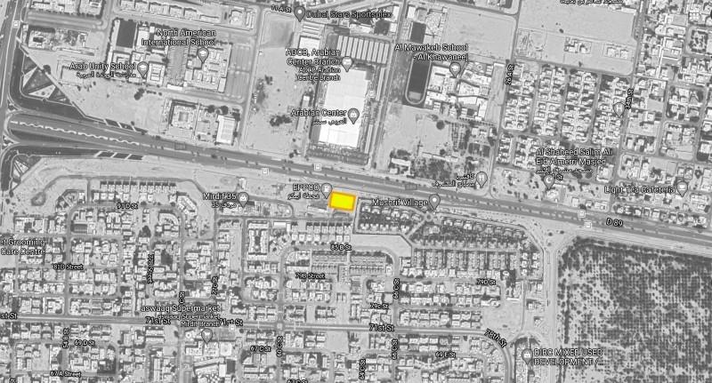 Studio Commercial Plot For Sale in  Mushrif Village,  Mirdif   3
