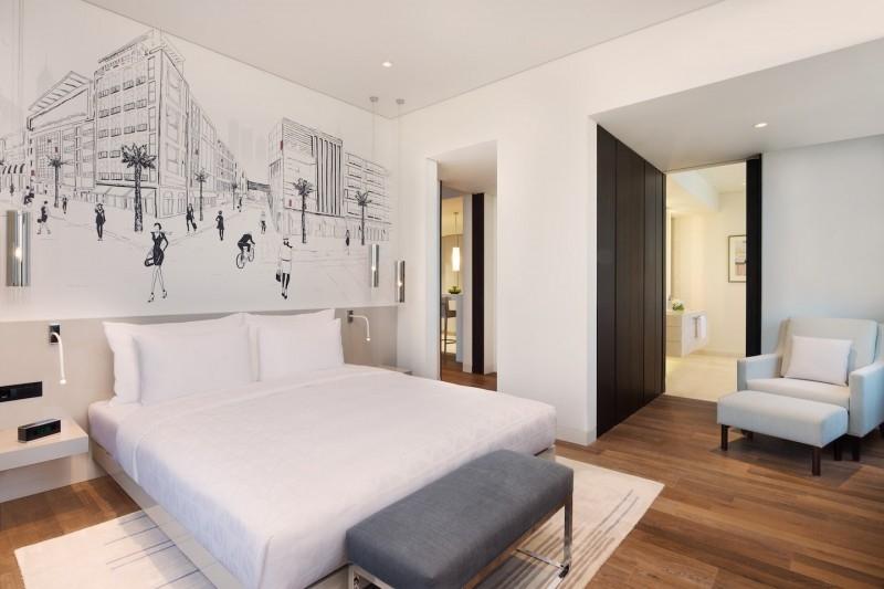 1 Bedroom Hotel Apartment For Rent in  La Ville Hotel & Suites,  City Walk   1