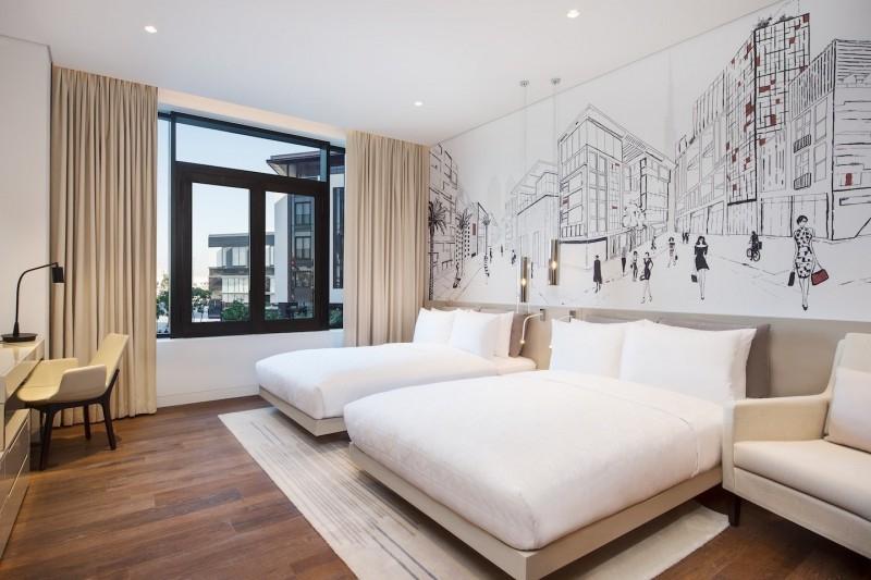 1 Bedroom Hotel Apartment For Rent in  La Ville Hotel & Suites,  City Walk   3