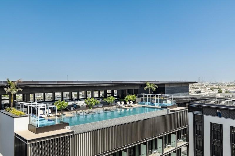 1 Bedroom Hotel Apartment For Rent in  La Ville Hotel & Suites,  City Walk   4