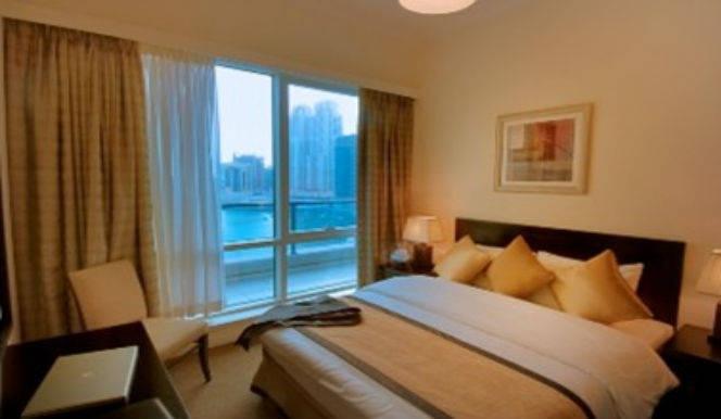3 Bedroom Hotel Apartment For Rent in  Nuran Marina Serviced Residences,  Dubai Marina   2