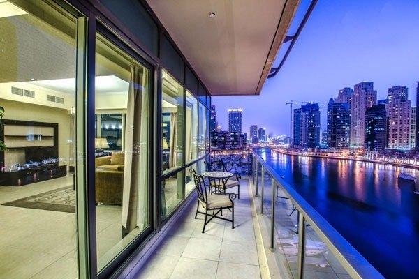 3 Bedroom Hotel Apartment For Rent in  Nuran Marina Serviced Residences,  Dubai Marina   10