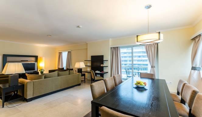 3 Bedroom Hotel Apartment For Rent in  Nuran Marina Serviced Residences,  Dubai Marina   3