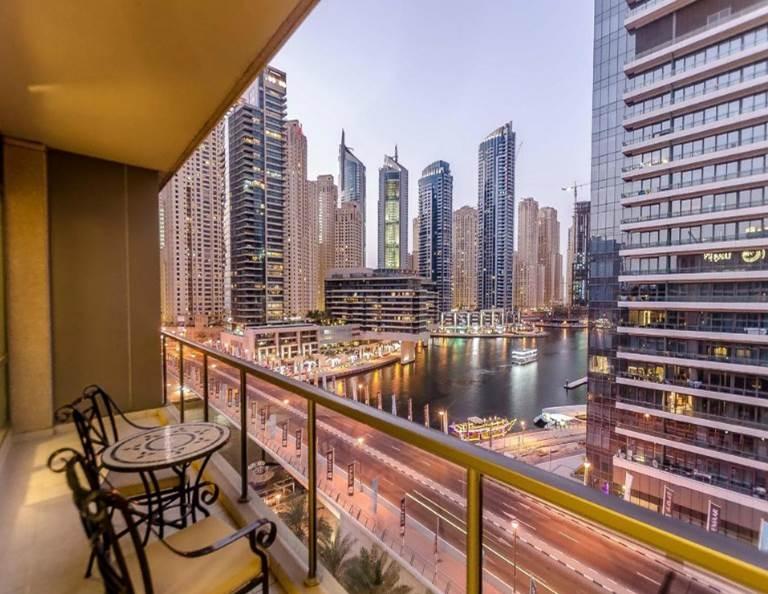 3 Bedroom Hotel Apartment For Rent in  Nuran Marina Serviced Residences,  Dubai Marina   11