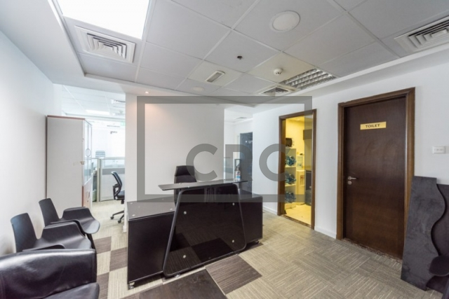 1,014 sq.ft. Office in Business Bay, Ontario Tower for AED 861,866