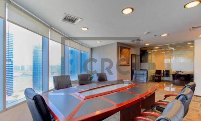 furnished office for sale in business bay, ontario tower | 4