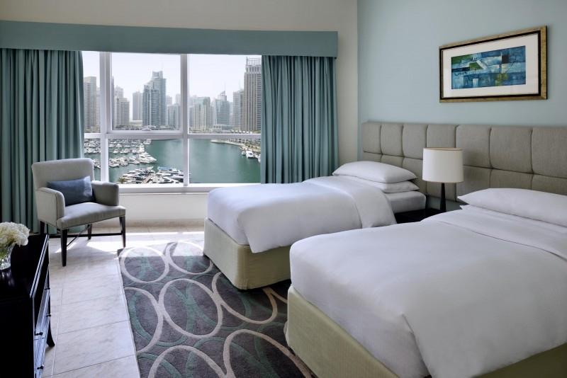 2 Bedroom Hotel Apartment For Rent in  Marriott Harbour Hotel And Suites,  Dubai Marina | 9