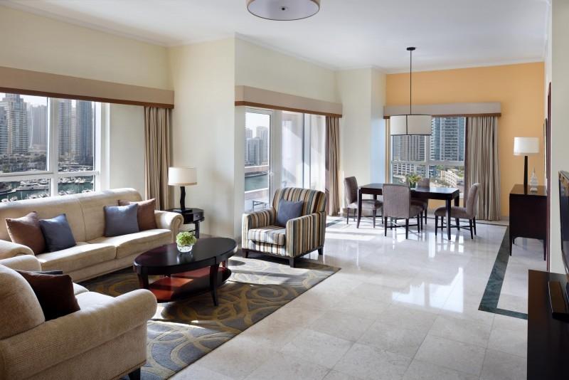 2 Bedroom Hotel Apartment For Rent in  Marriott Harbour Hotel And Suites,  Dubai Marina | 0