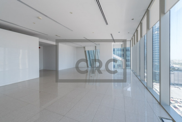 950 sq.ft. Office in Business Bay, The Prism for AED 74,000