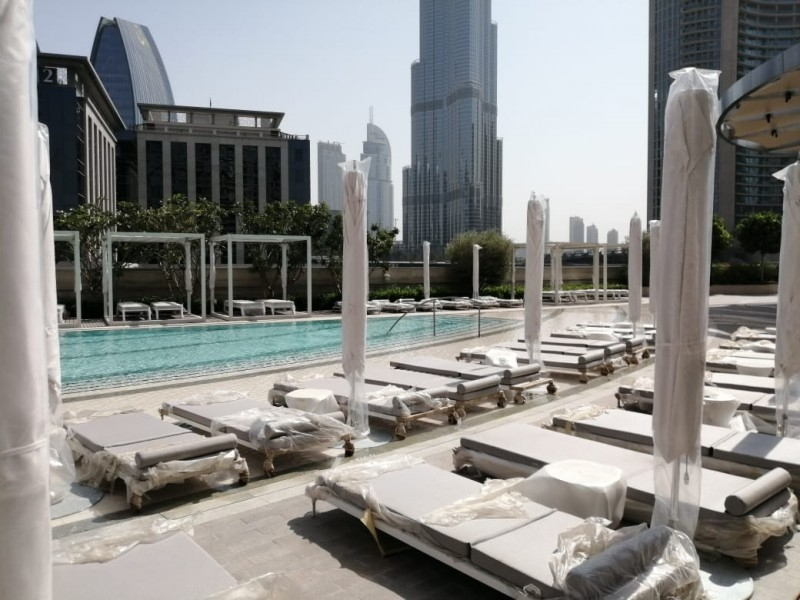 2 Bedroom Hotel Apartment For Rent in  The Address Sky View Tower 1,  Downtown Dubai | 9