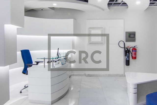 1,182 sq.ft. Office in Business Bay, Westburry Tower 1 for AED 1,240,000
