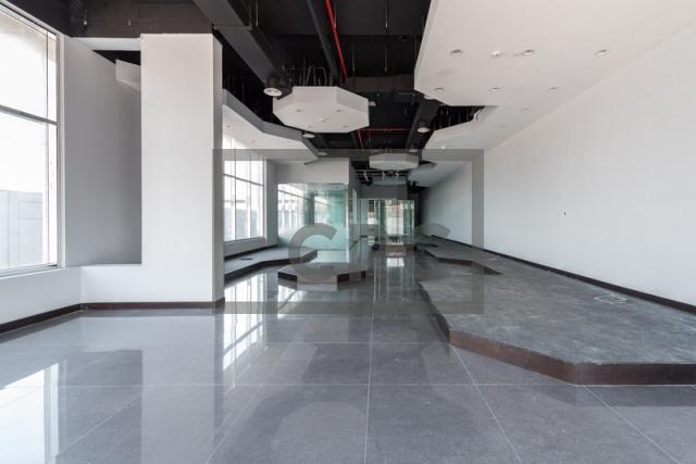 retail for rent in al garhoud, al nisf building   3