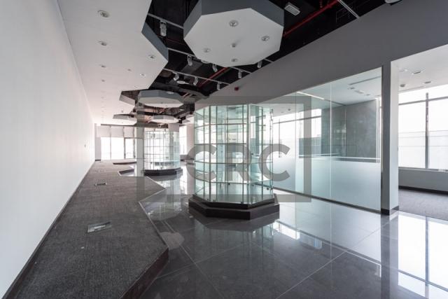 retail for rent in al garhoud, al nisf building   2