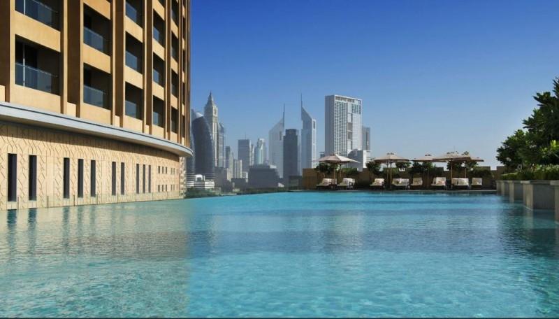 Studio Hotel Apartment For Rent in  The Address Dubai Mall,  Downtown Dubai   11