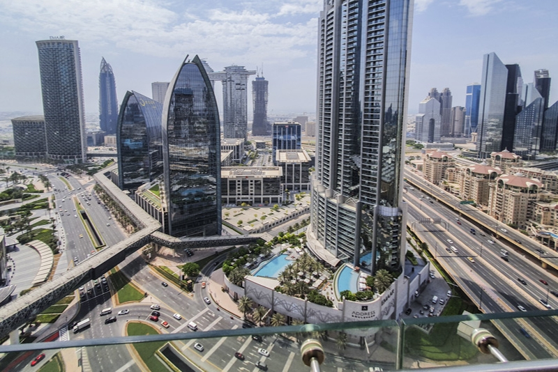 Studio Hotel Apartment For Rent in  The Address Dubai Mall,  Downtown Dubai   9