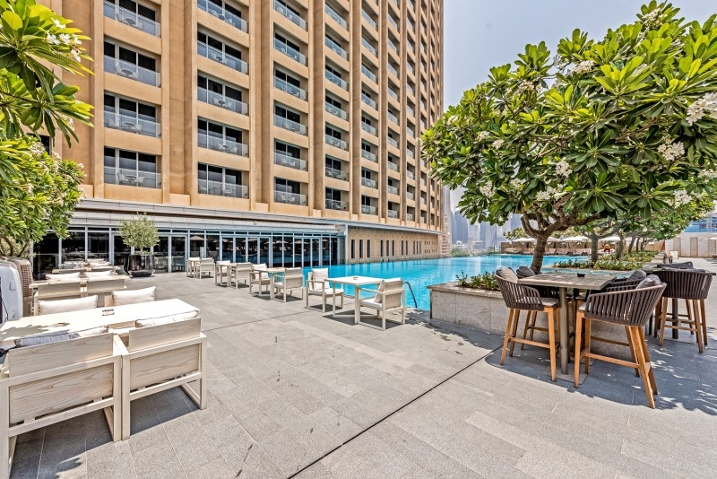 Studio Hotel Apartment For Rent in  The Address Dubai Mall,  Downtown Dubai | 12