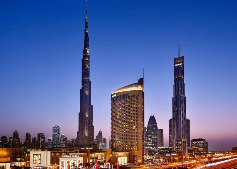Studio Hotel Apartment For Rent in  The Address Dubai Mall,  Downtown Dubai | 11